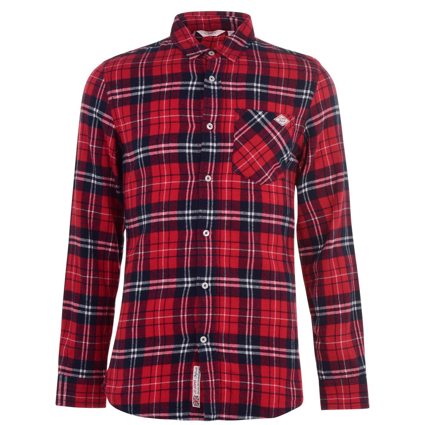 Lee Cooper Flannel Shirt Mens