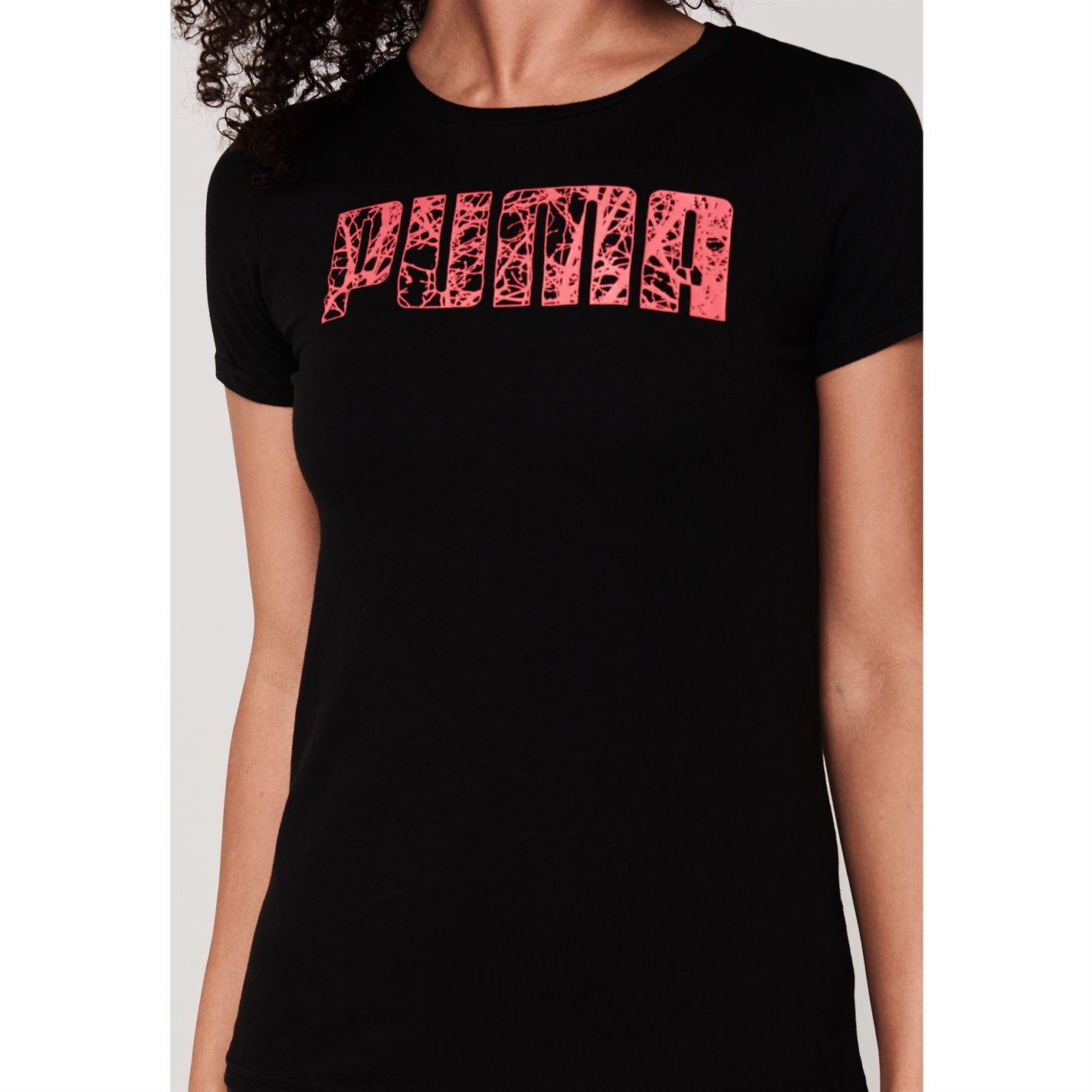 Puma Big Logo QT T Shirt Ladies