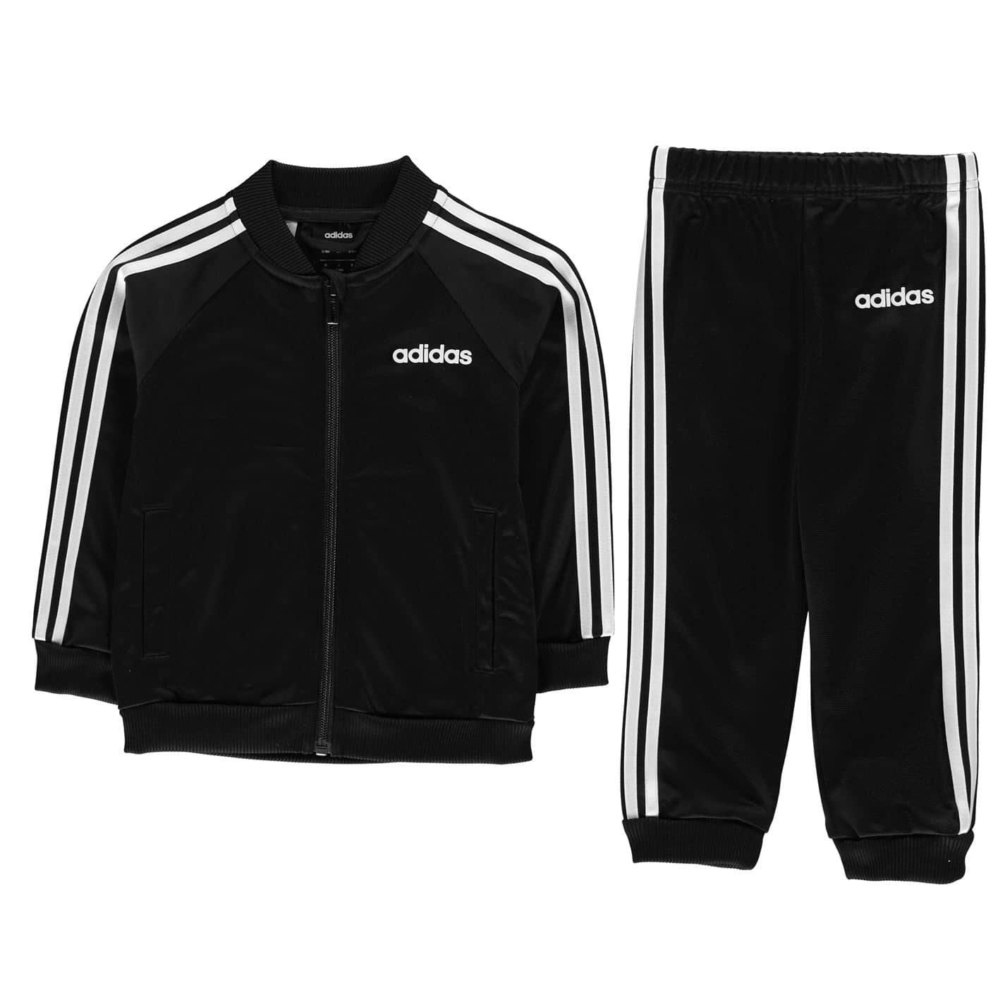 Detská tepláková súprava Adidas 3 Stripe Poly