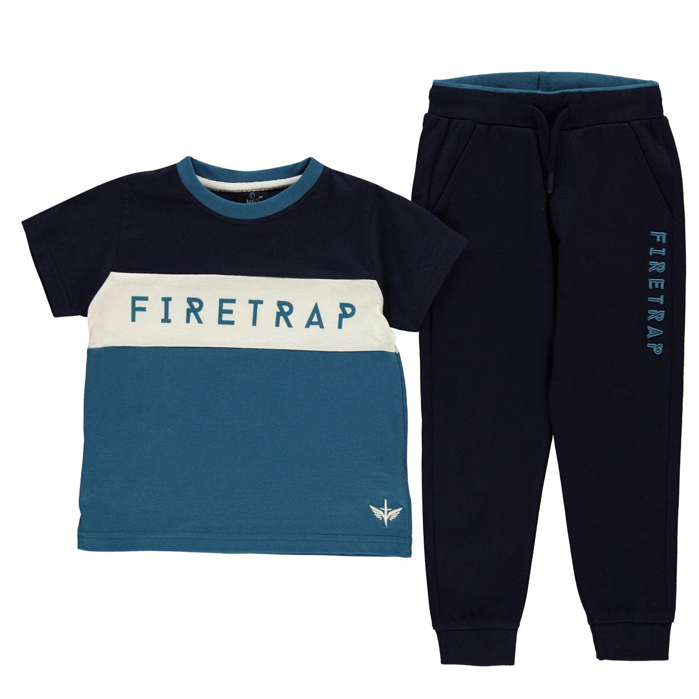 Triko Firetrap 2 Piece Jogger Set Infant Boys