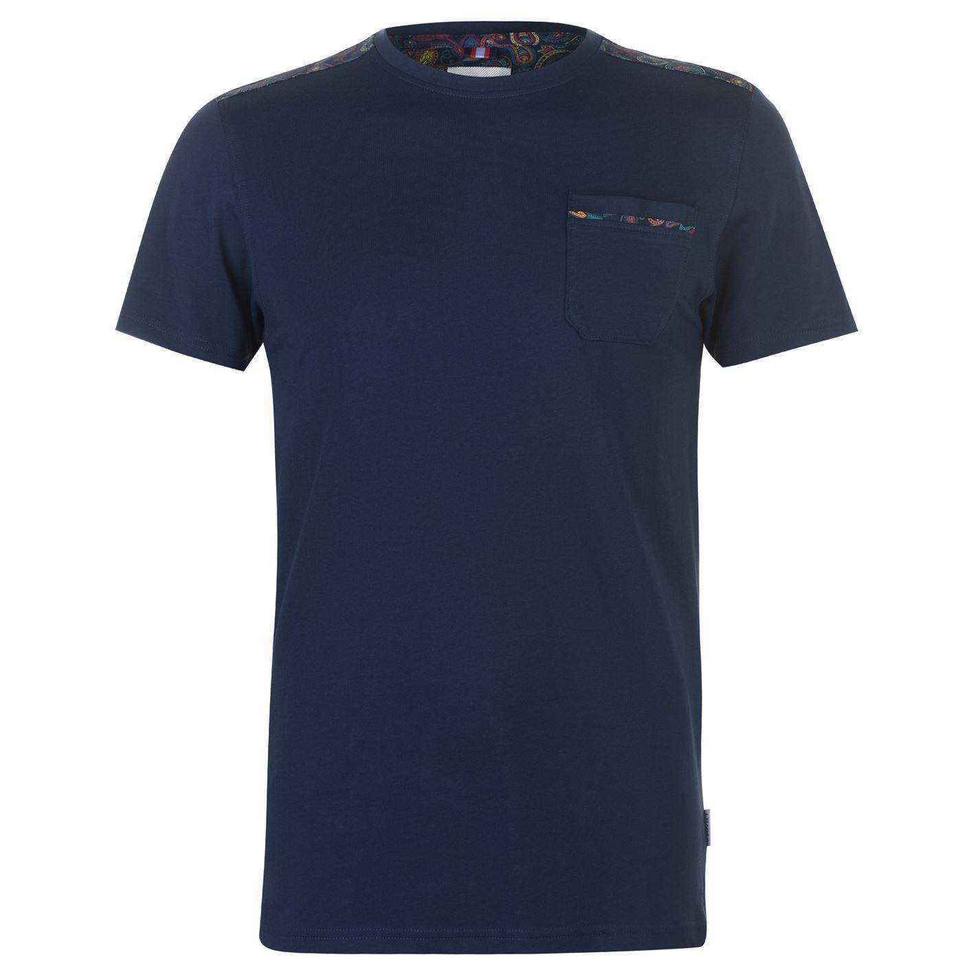 Triko Soviet Paisley Shoulder T Shirt