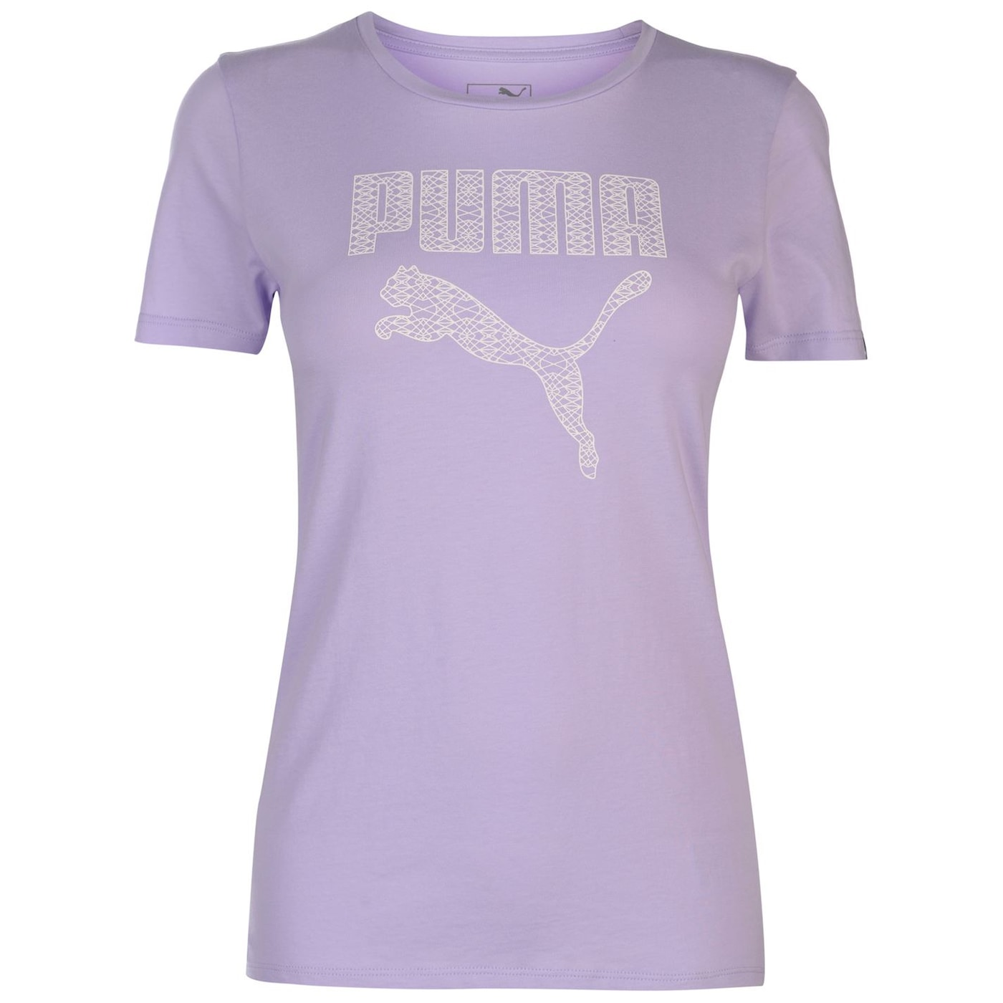Puma Pastel Logo T Shirt Ladies