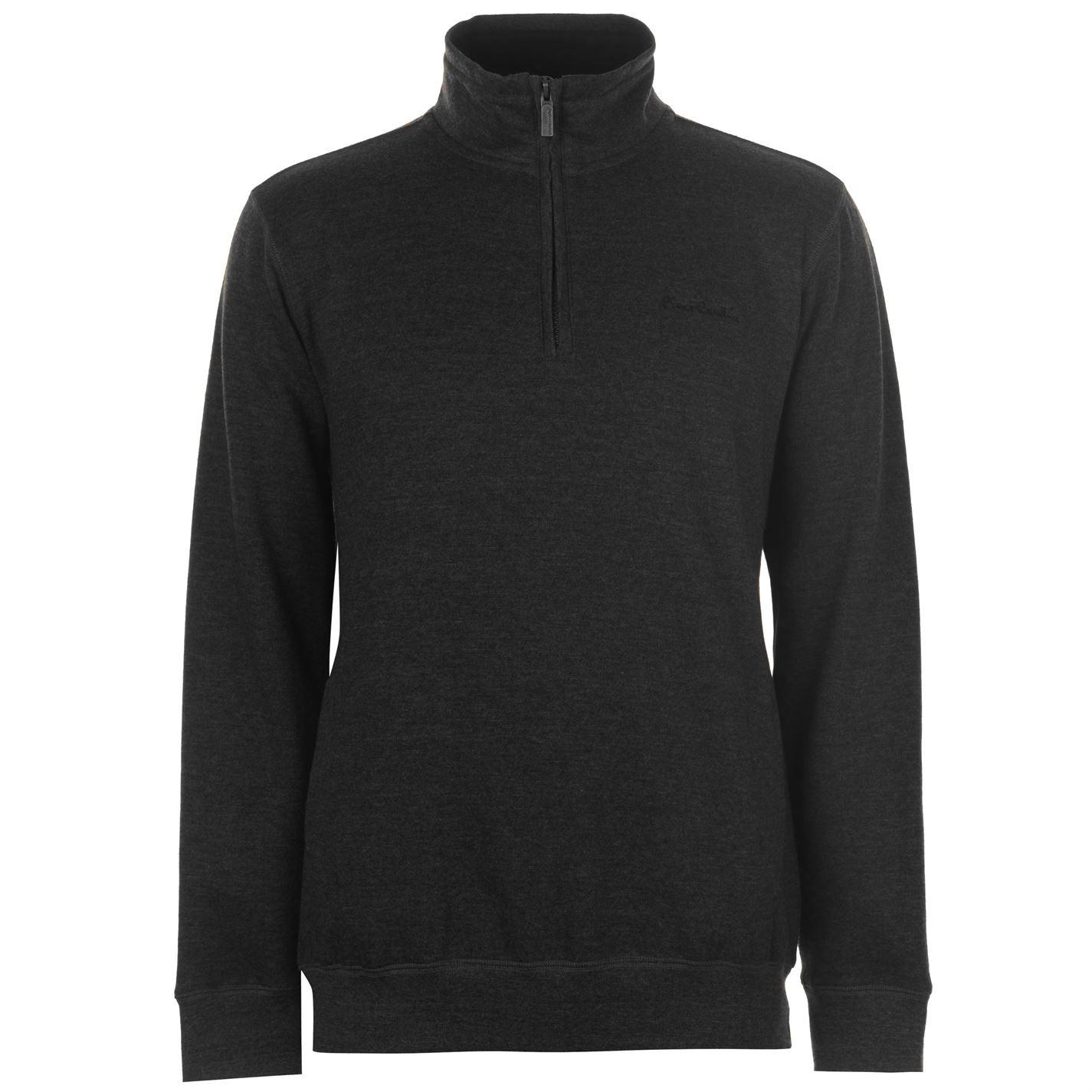 Pierre Cardin Quarter Zip Fleece Mens