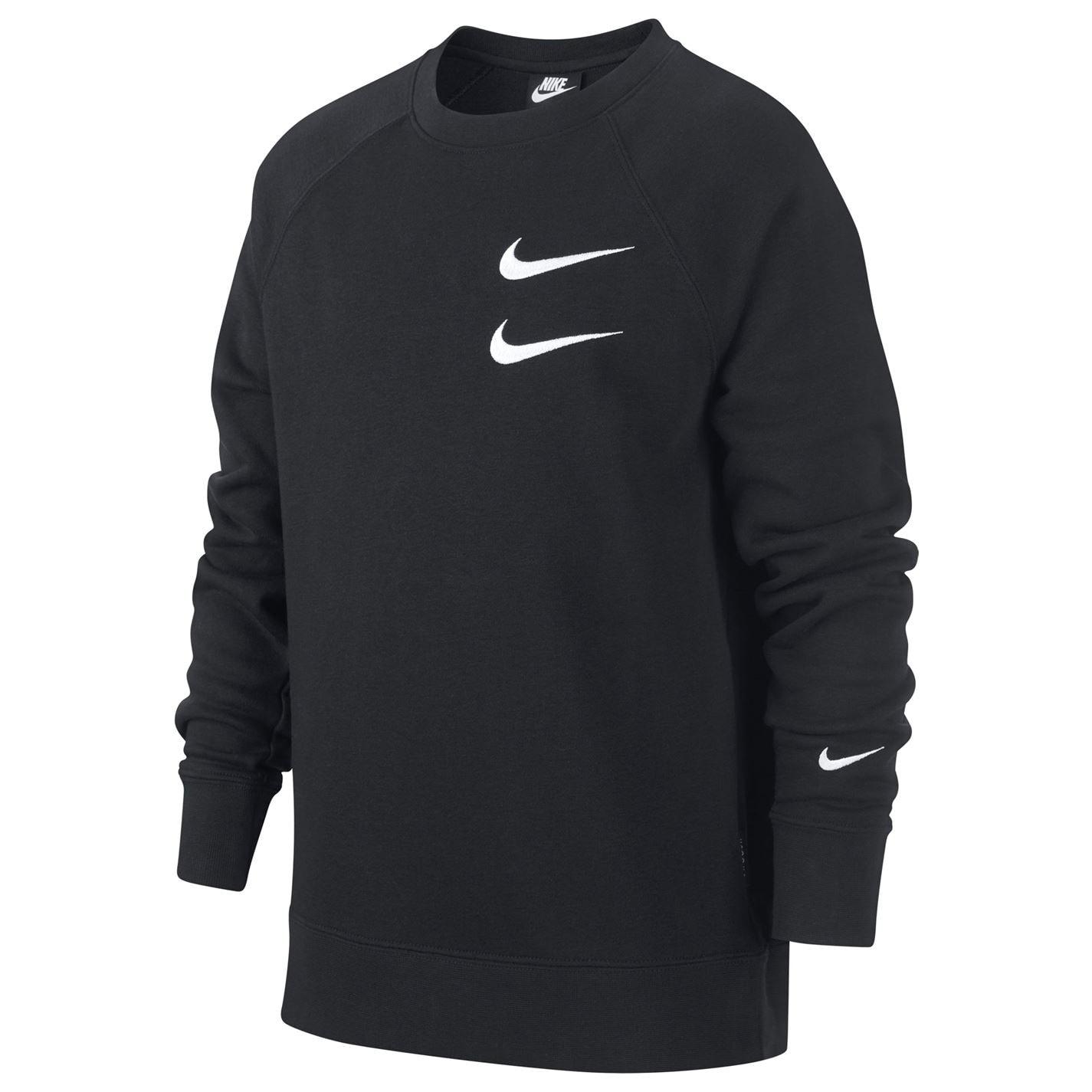 Nike Sportswear Swoosh Crew Sweatshirt Junior