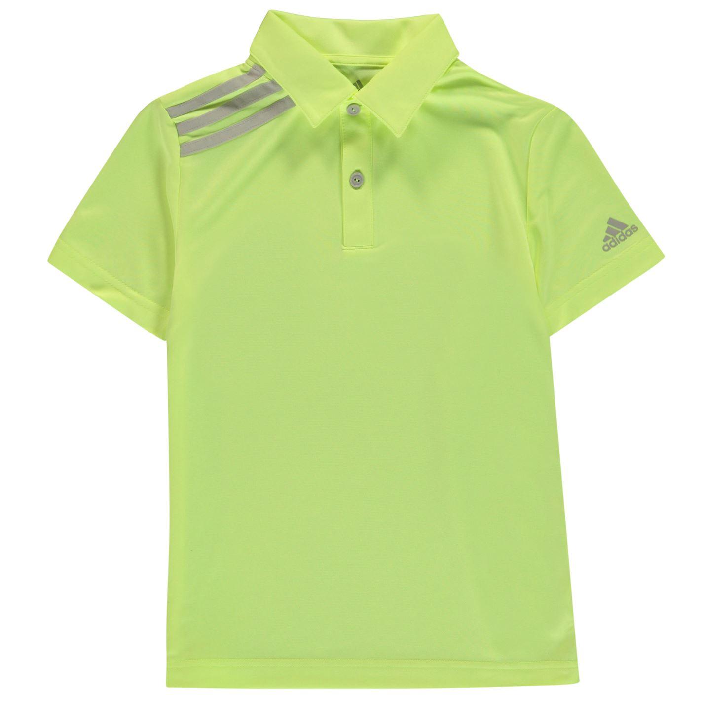 Adidas 3 Stripe Golf Polo Junior Boys