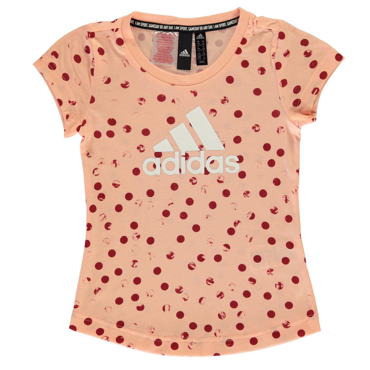 Adidas Graphic T Shirt Girls