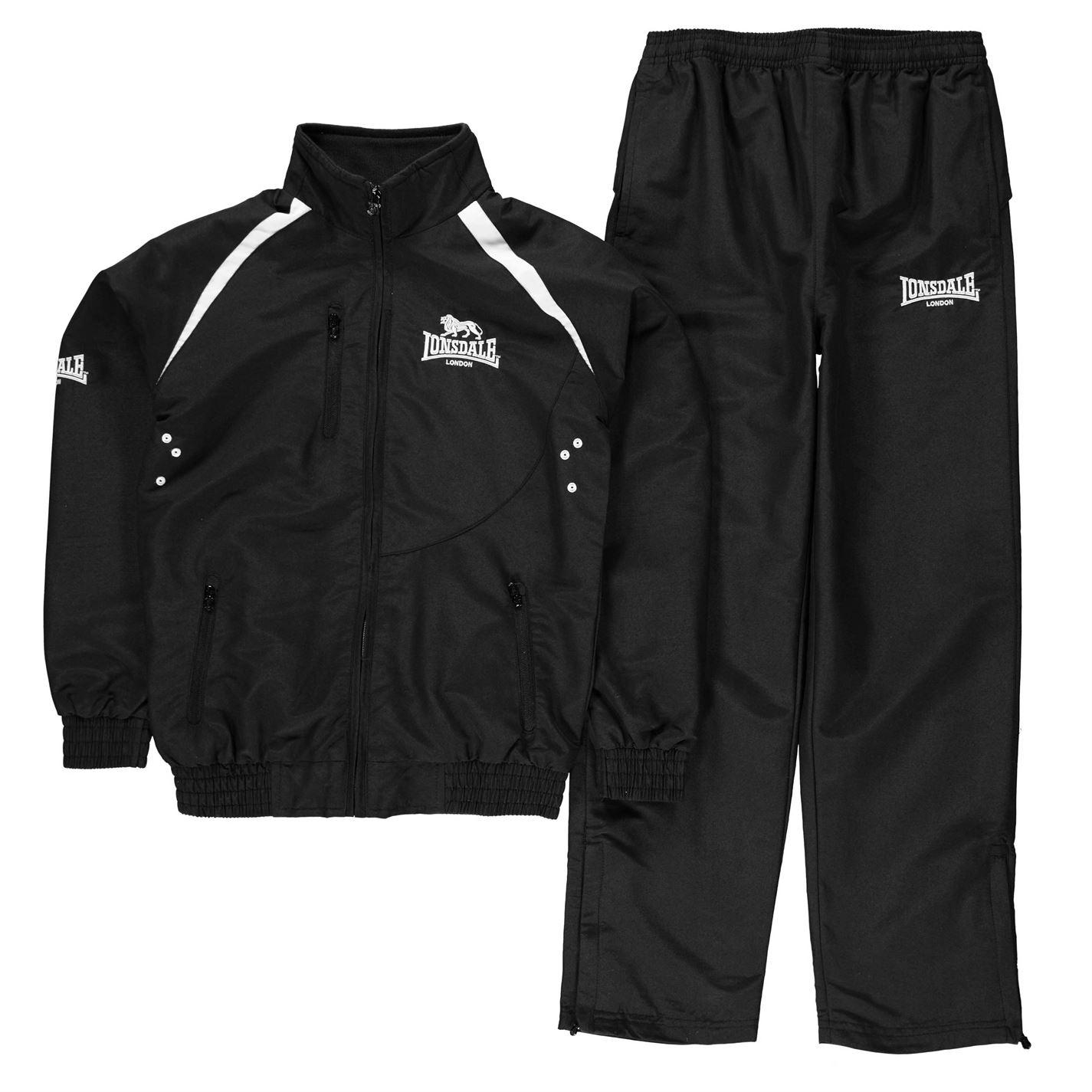 Lonsdale Team Track Suit Junior