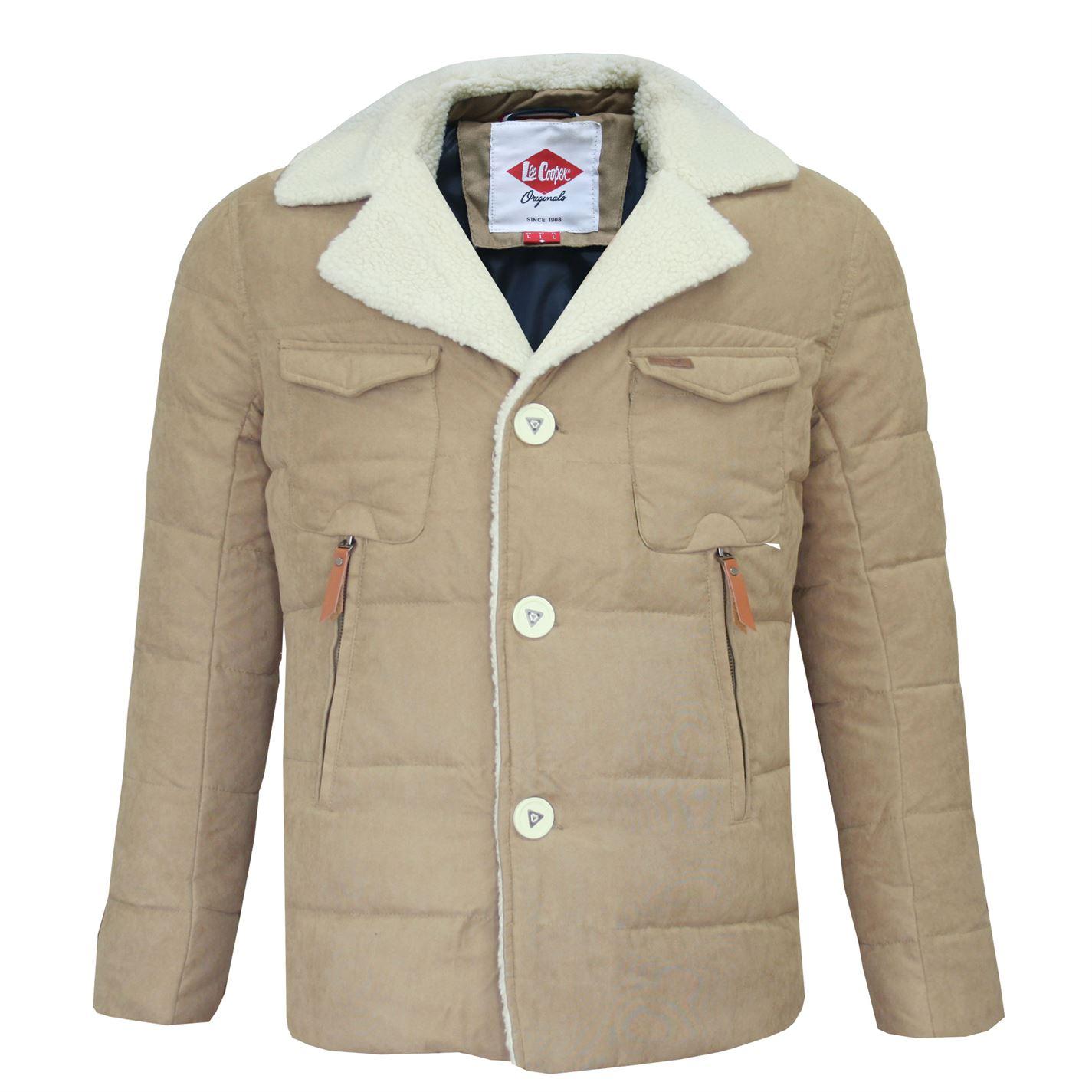 Lee Cooper Sherpa Collar Jacket pánske