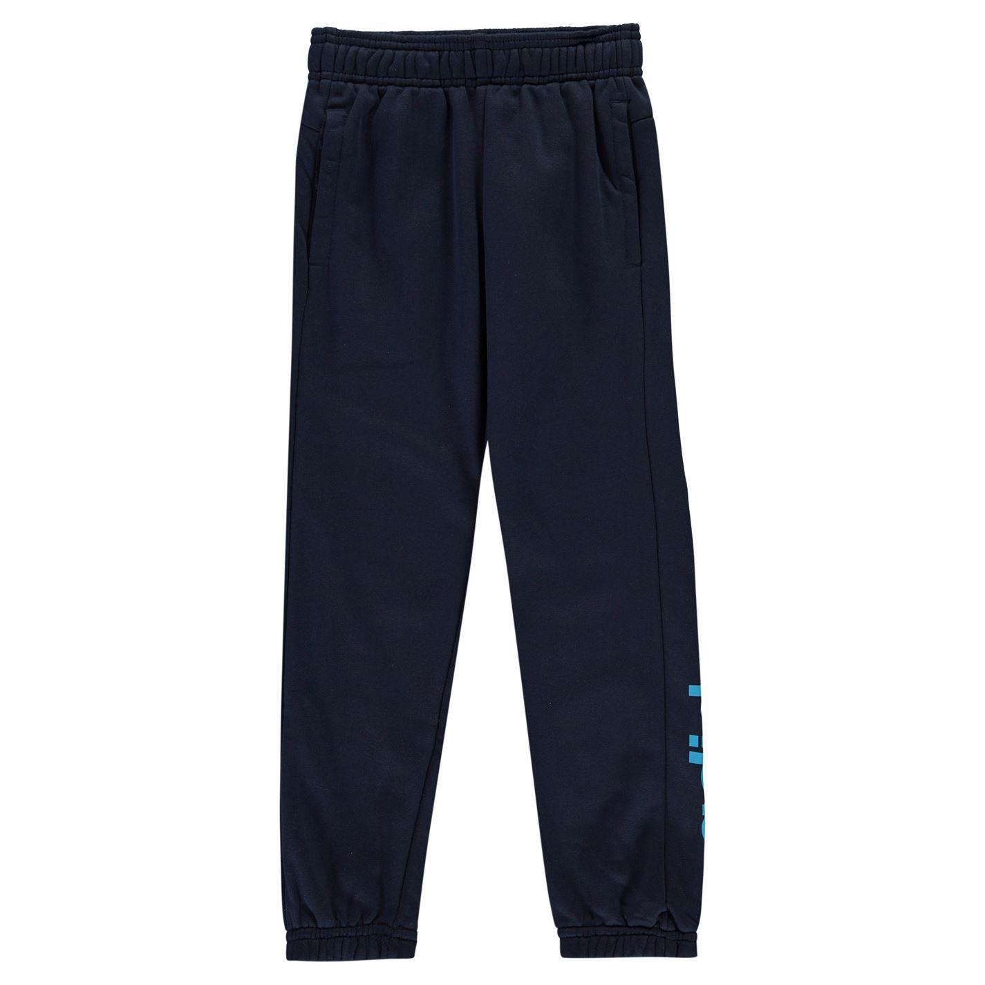 adidas Linear Logo Fleece Pants dětské Boys