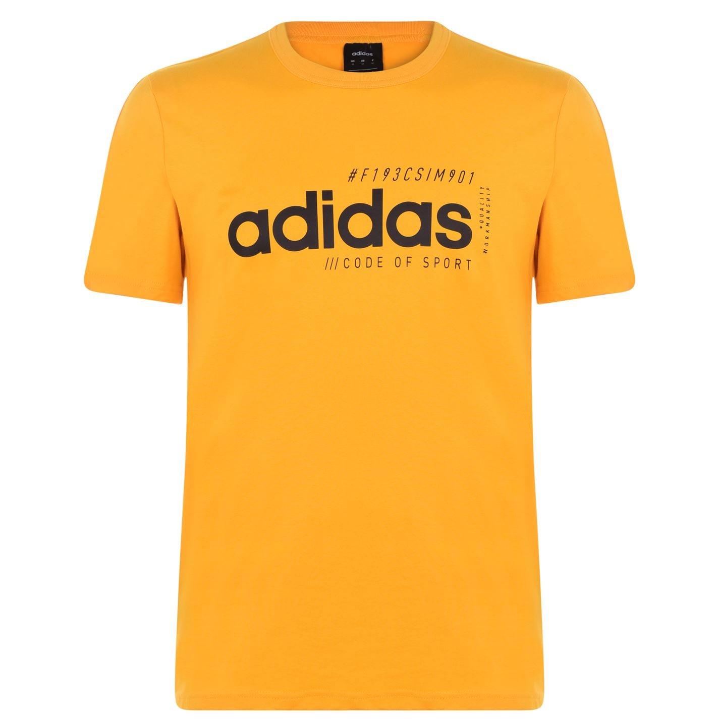 Triko Triko adidas Essentials Logo T Shirt pánské