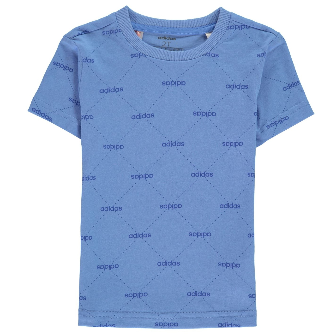 Adidas Linear Graphic T Shirt Infants
