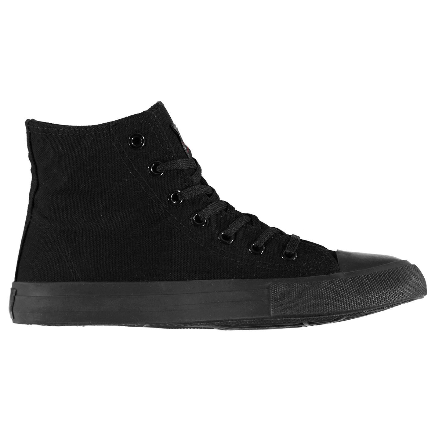ee38b592f832 boty Lee Cooper Canvas Hi Top Shoes pánské