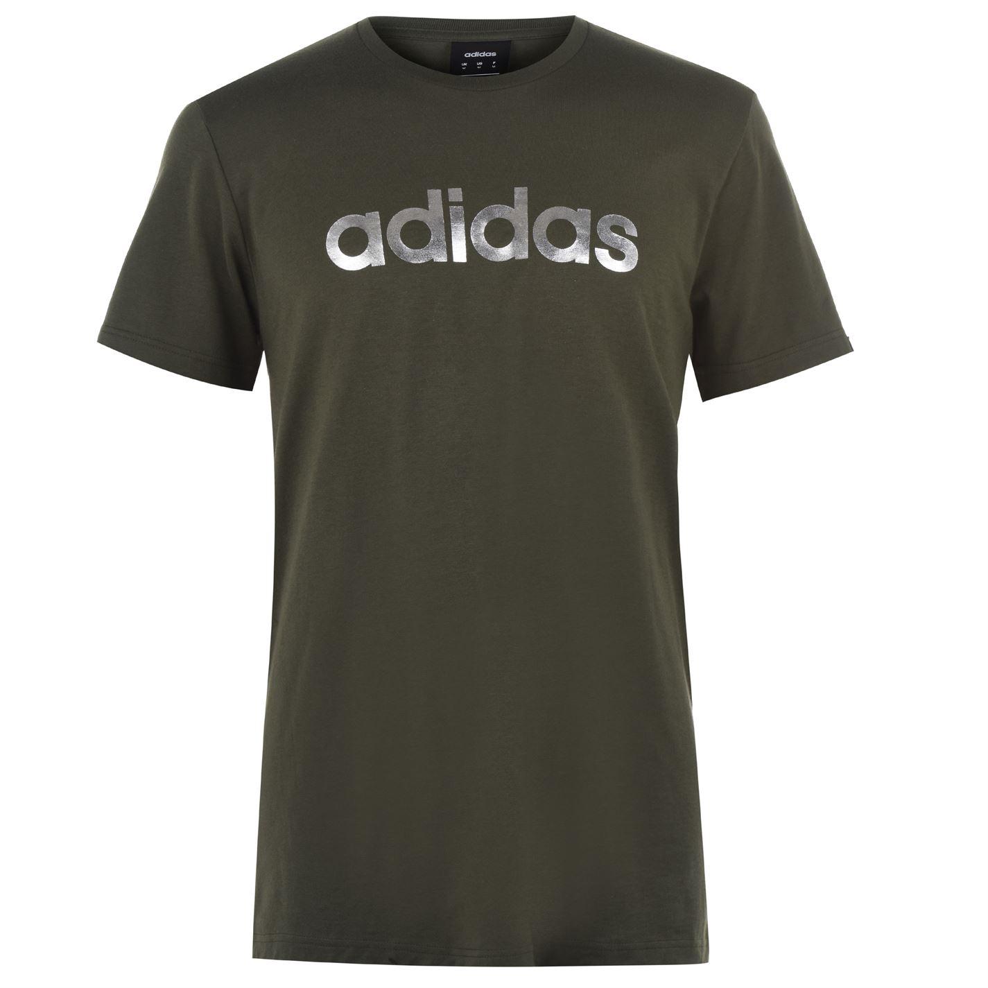 Adidas Mens Linear Foil T-Shirt