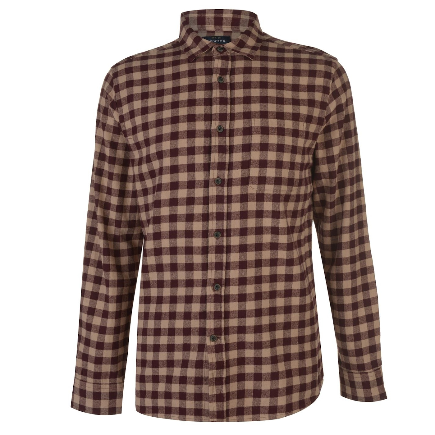 Howick Ware Brushed Gingham Shirt