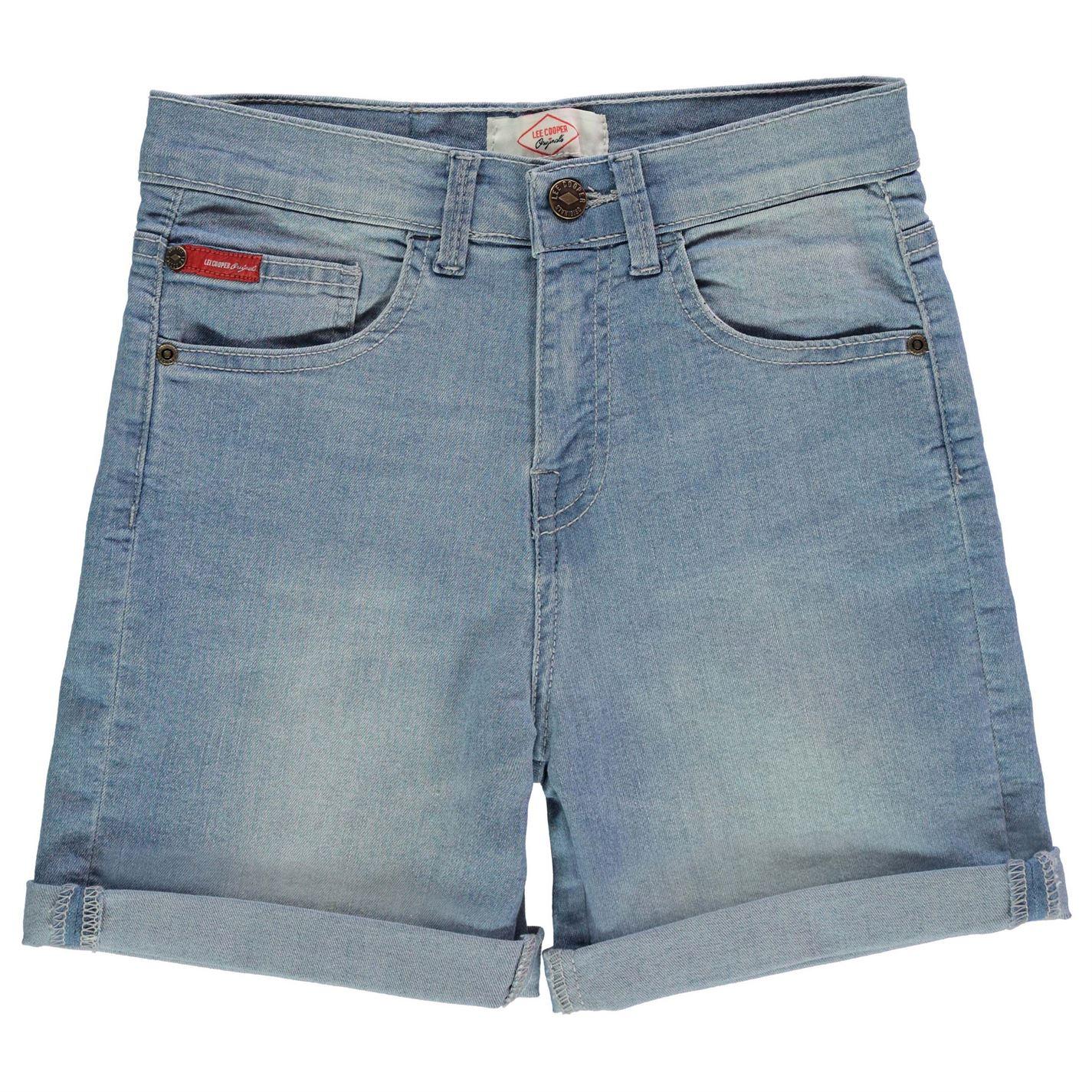 Lee Cooper Regular Denim Shorts Junior Girls