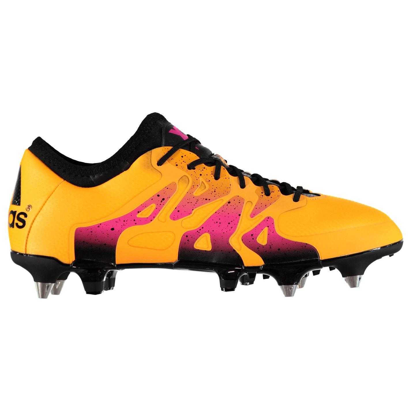 brand new 1ce6f 37416 Adidas X 15.1 SG Solar Gold Black Mens Football Boots