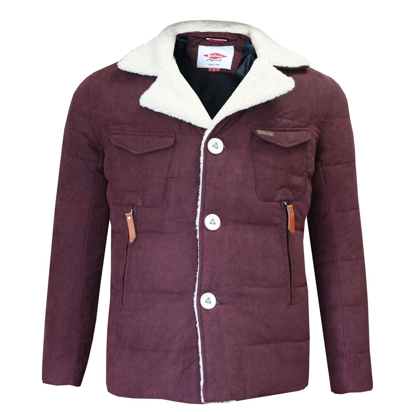 Lee Cooper Sherpa Collar Jacket pánské