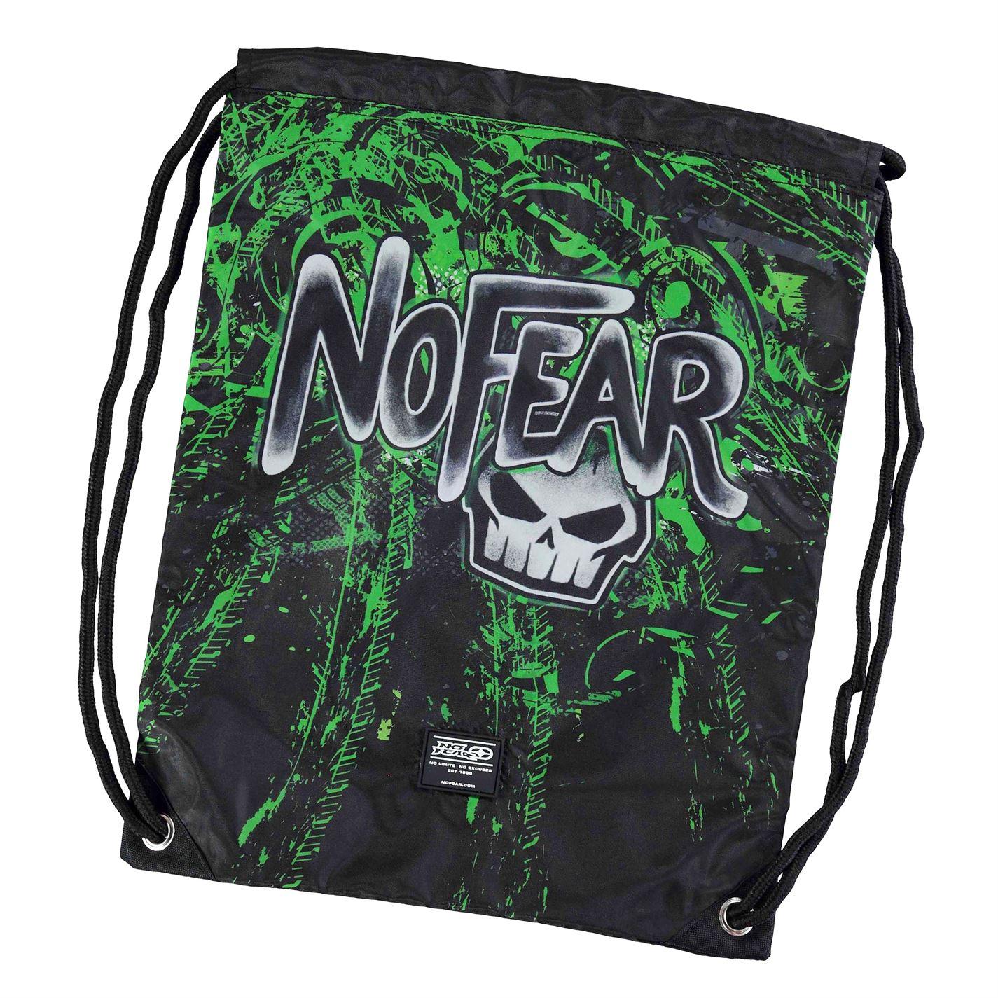 No Fear Graffiti Gym Sack