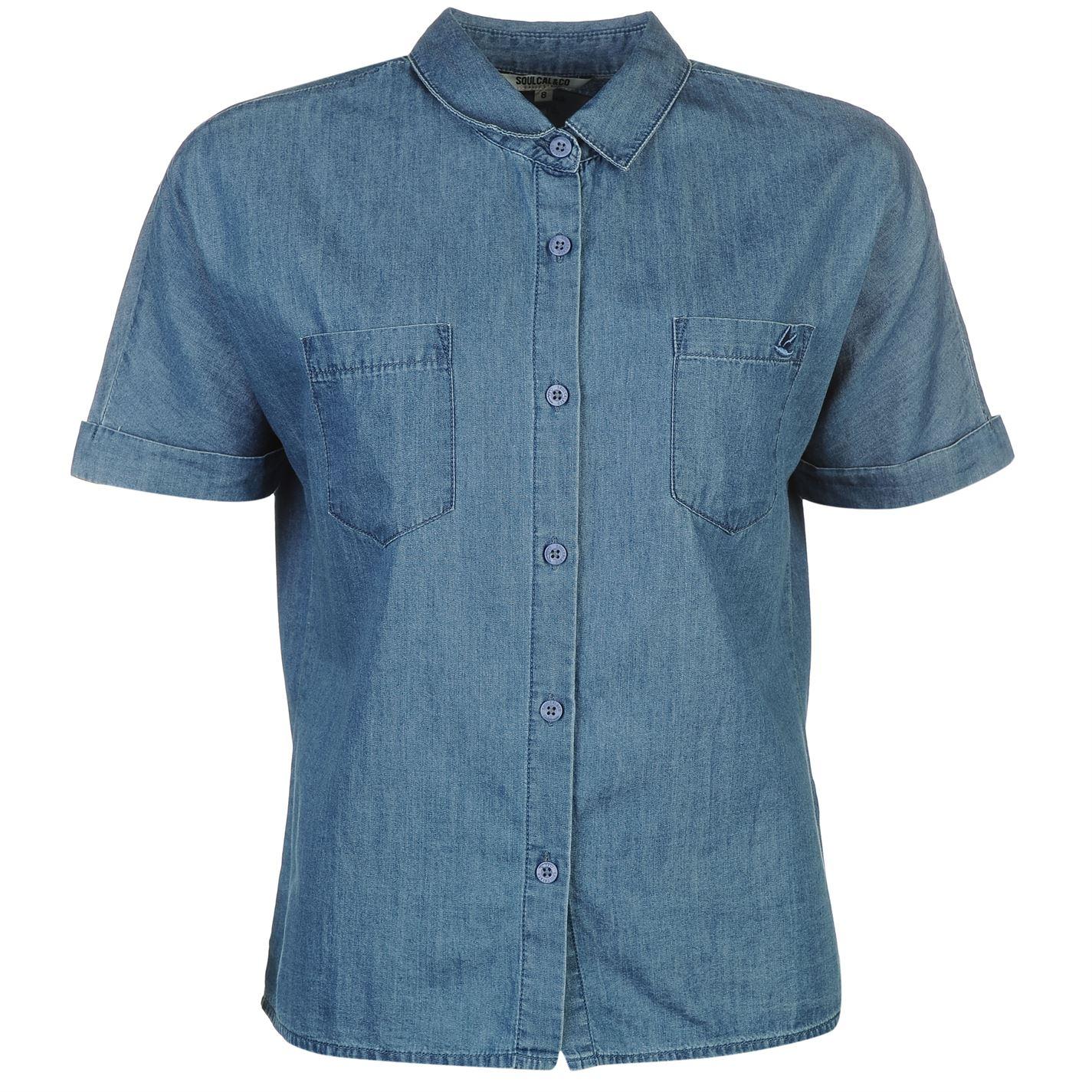 SoulCal Boxy Shirt Ladies