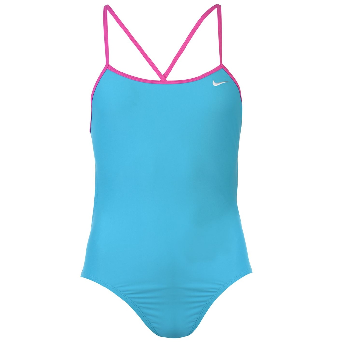 Nike Solid One Piece Swimsuit Ladies