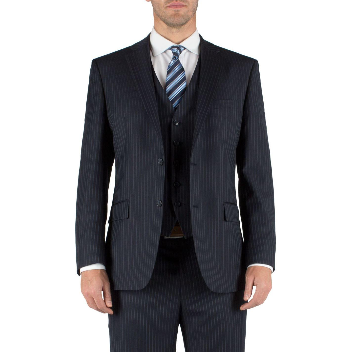 Pierre Cardin Stripe single breasted suit jacket