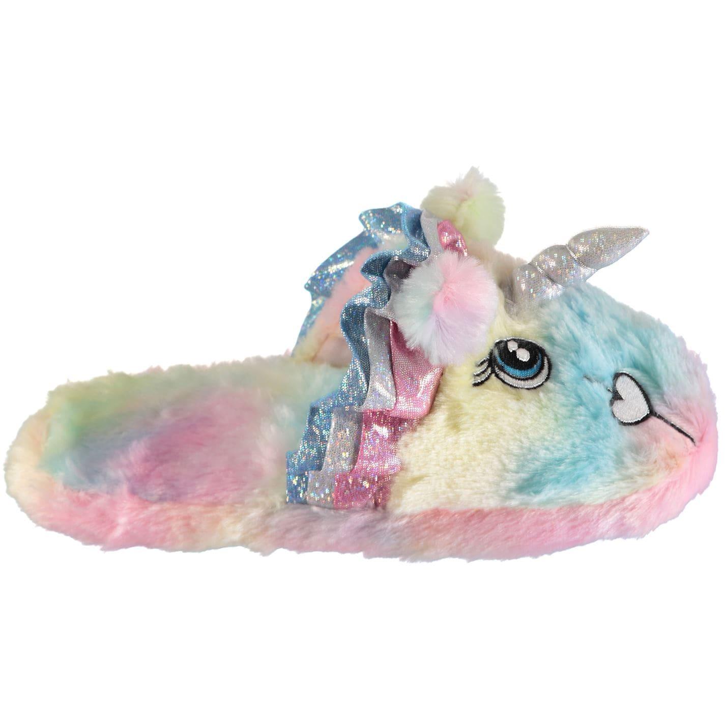 Dunlop Unicorn Slippers Ladies