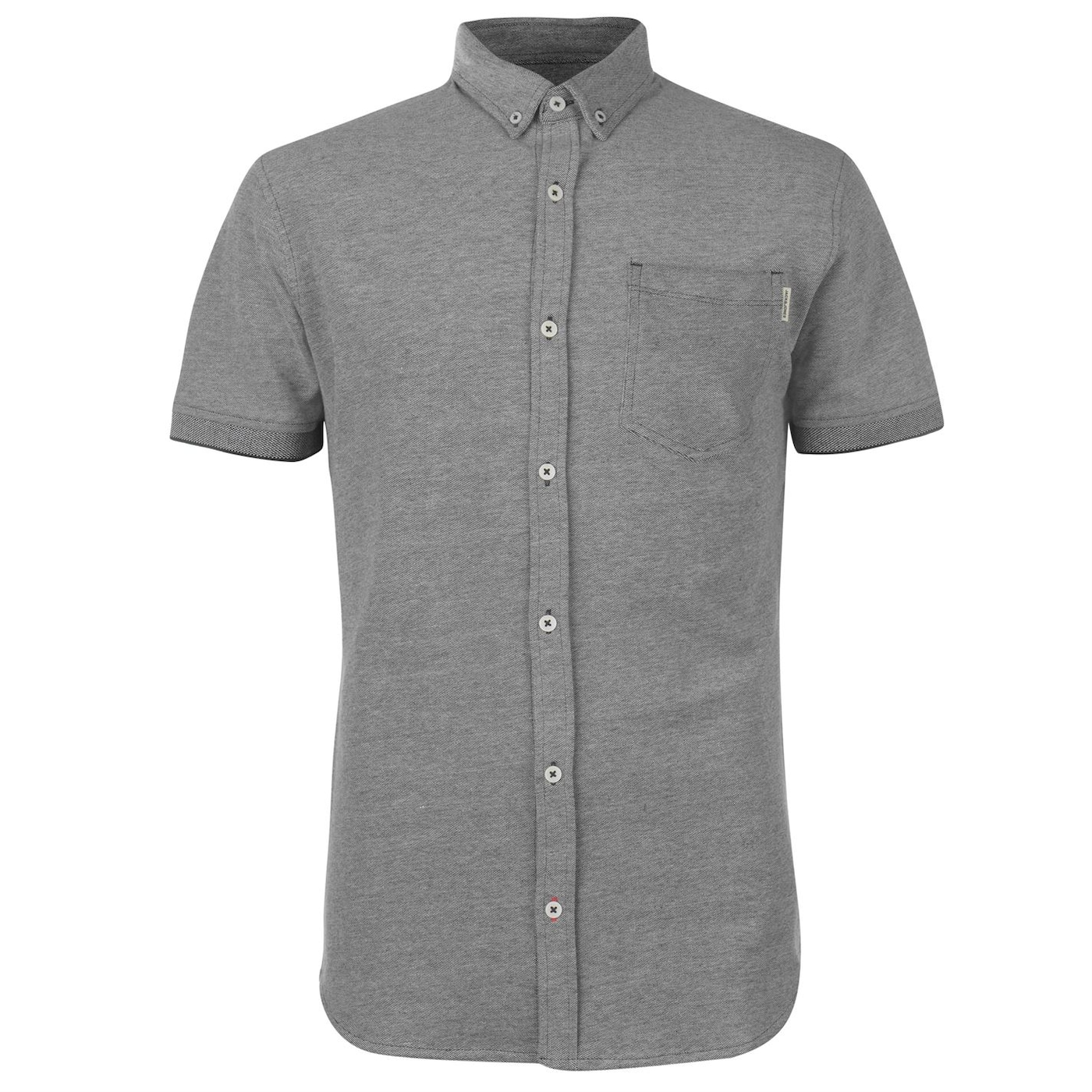 Jack and Jones Core Matthew Short Sleeve Shirt Mens