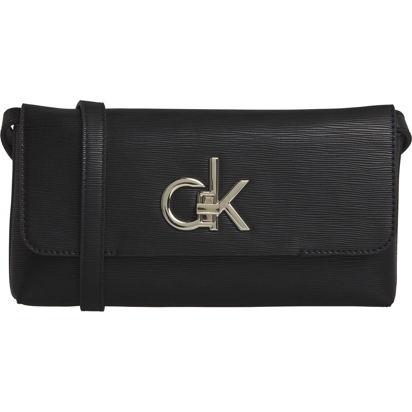 Calvin Klein Lock Clutch Bag