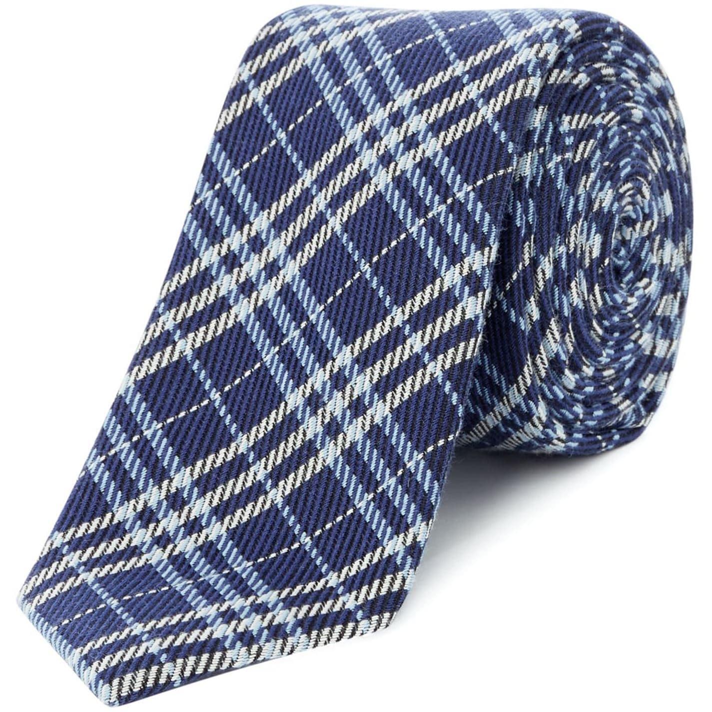 Turner and Sanderson Halden Woven Check Tie