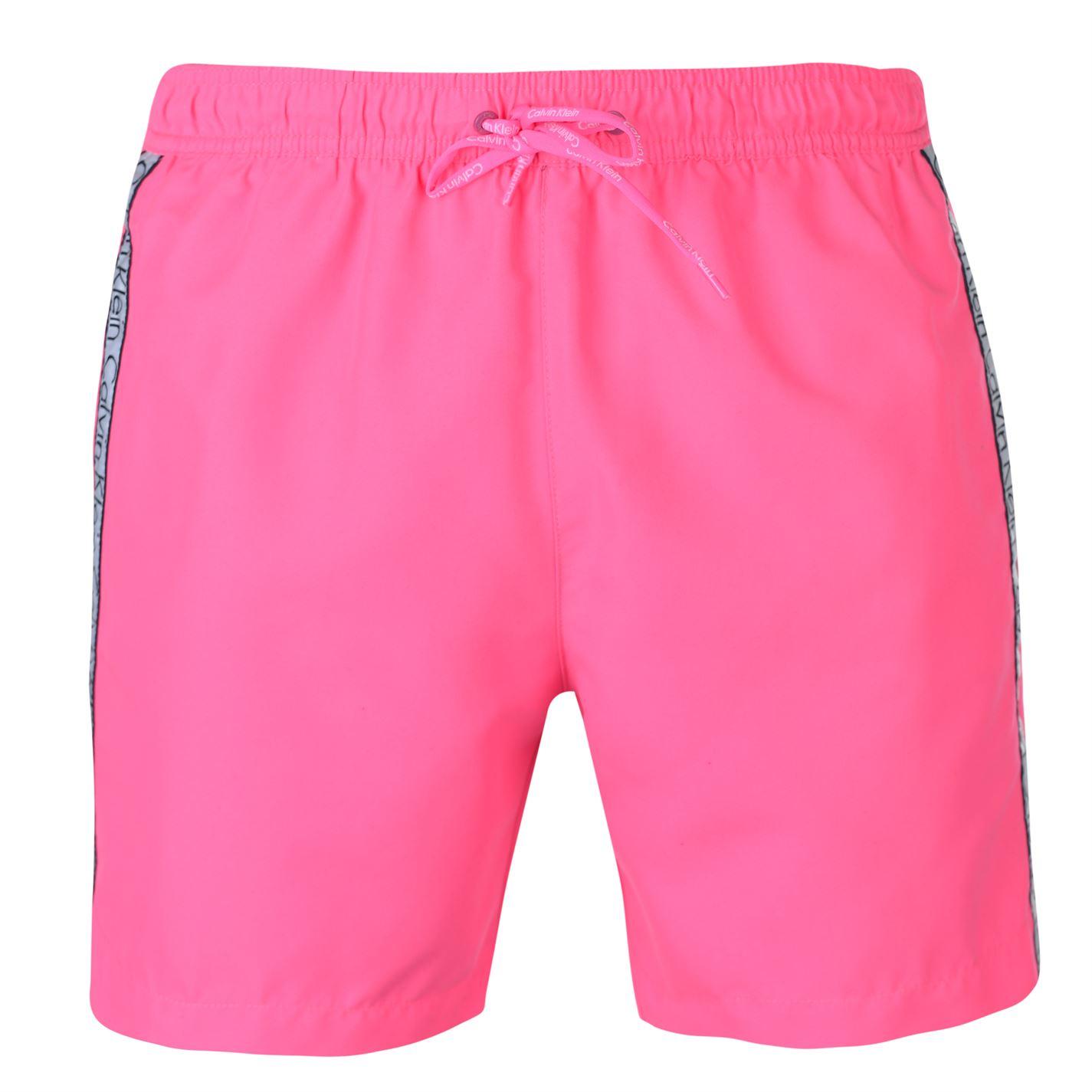Calvin Klein Taped Drawstring Swim Shorts