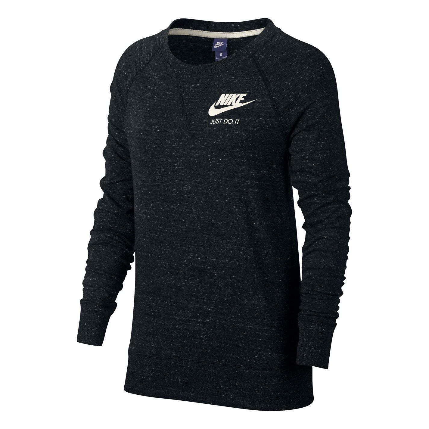 Nike Sportswear Gym Vintage Crew Sweatshirt Ladies