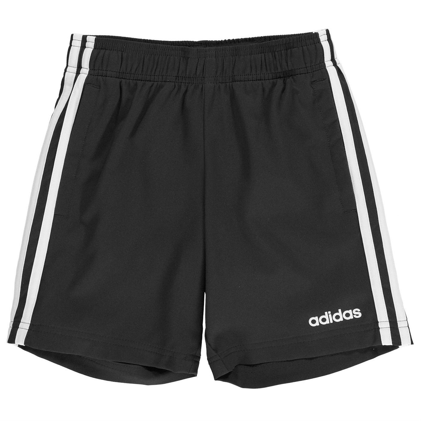 Adidas Junior Boys 3 Stripe Woven Shorts