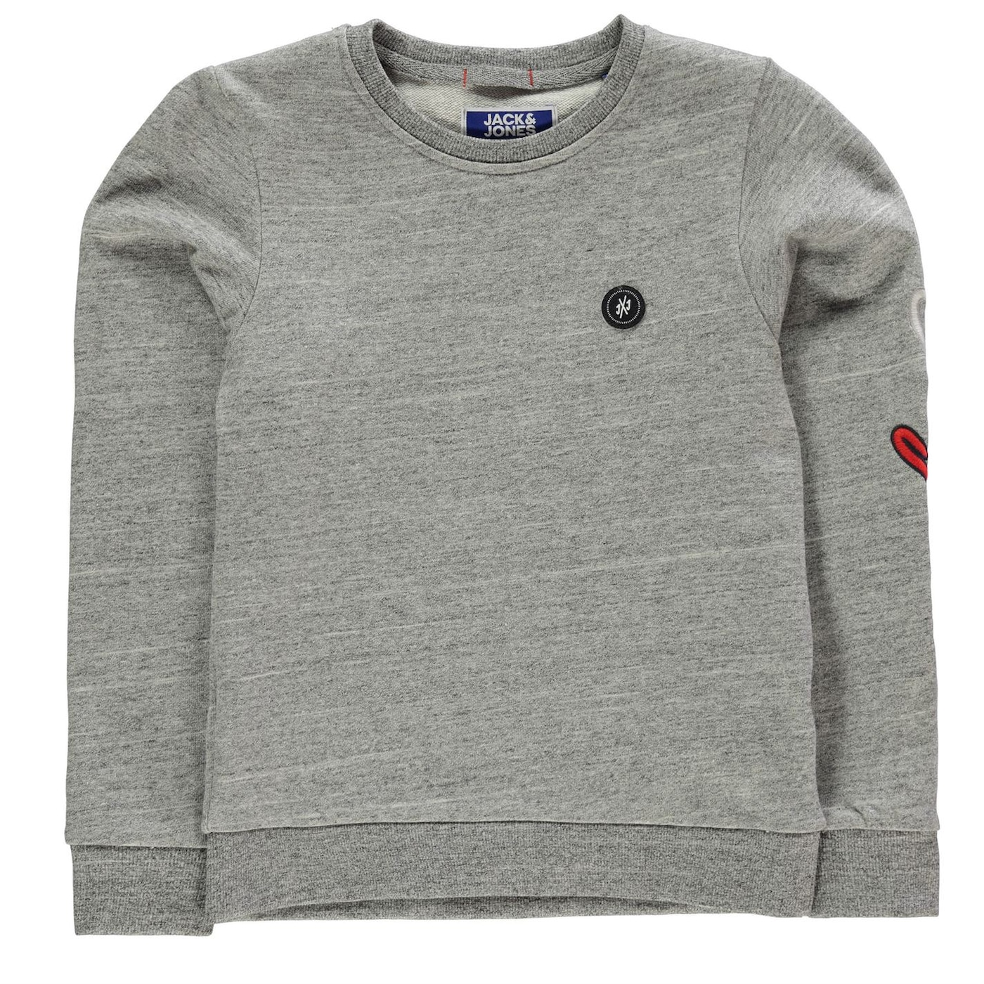 Jack and Jones & Jones Junior Sleeve Graphic Crew Sweat