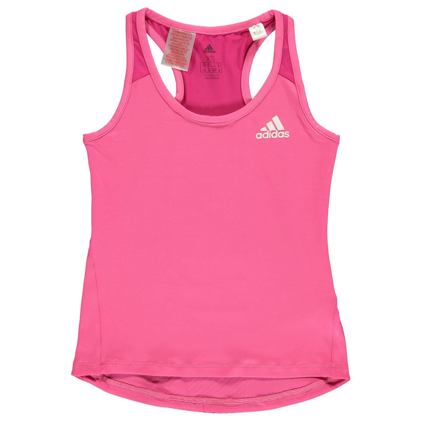 Adidas Logo Tank Top Junior Girls