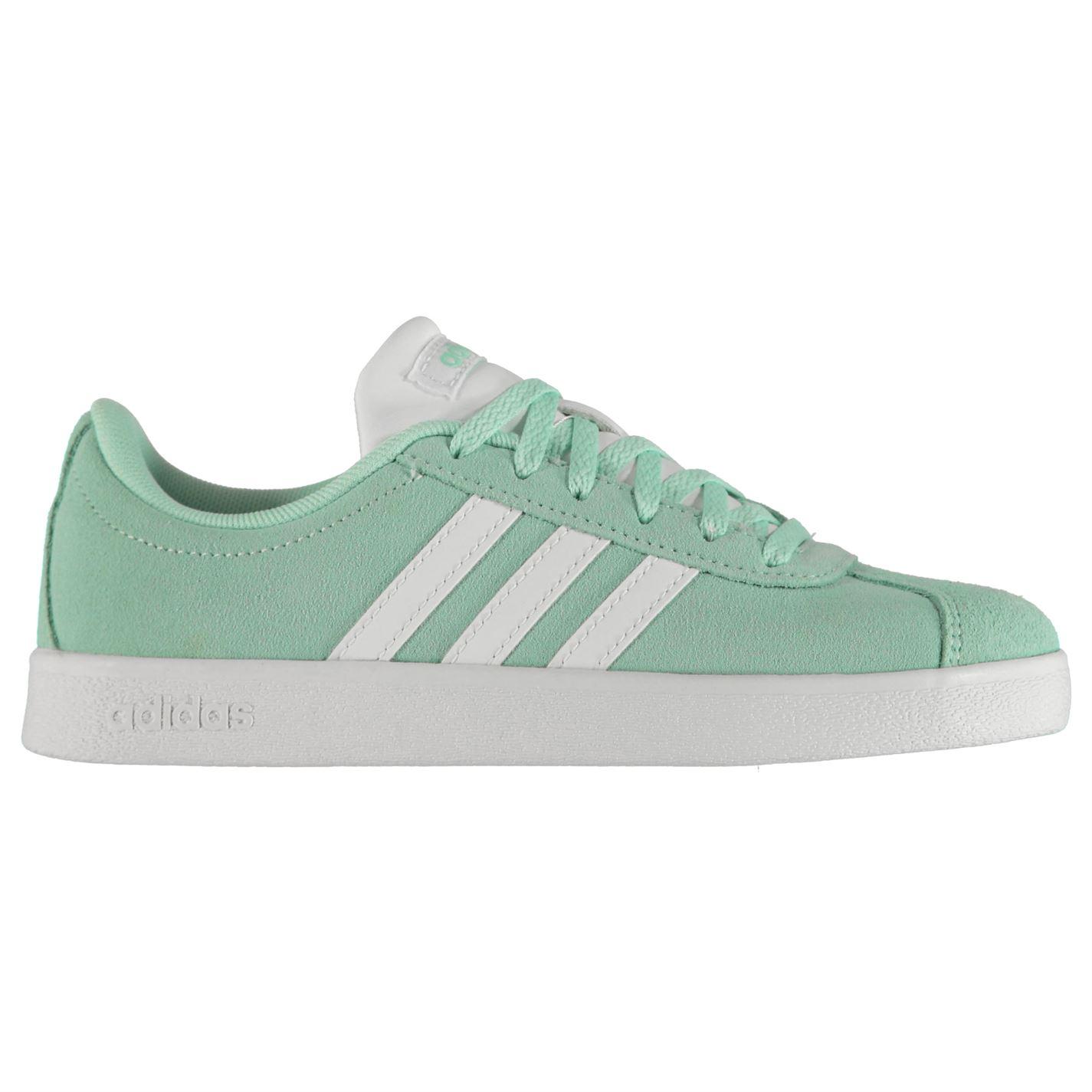Adidas VL Court Suede Shoes Child Girls