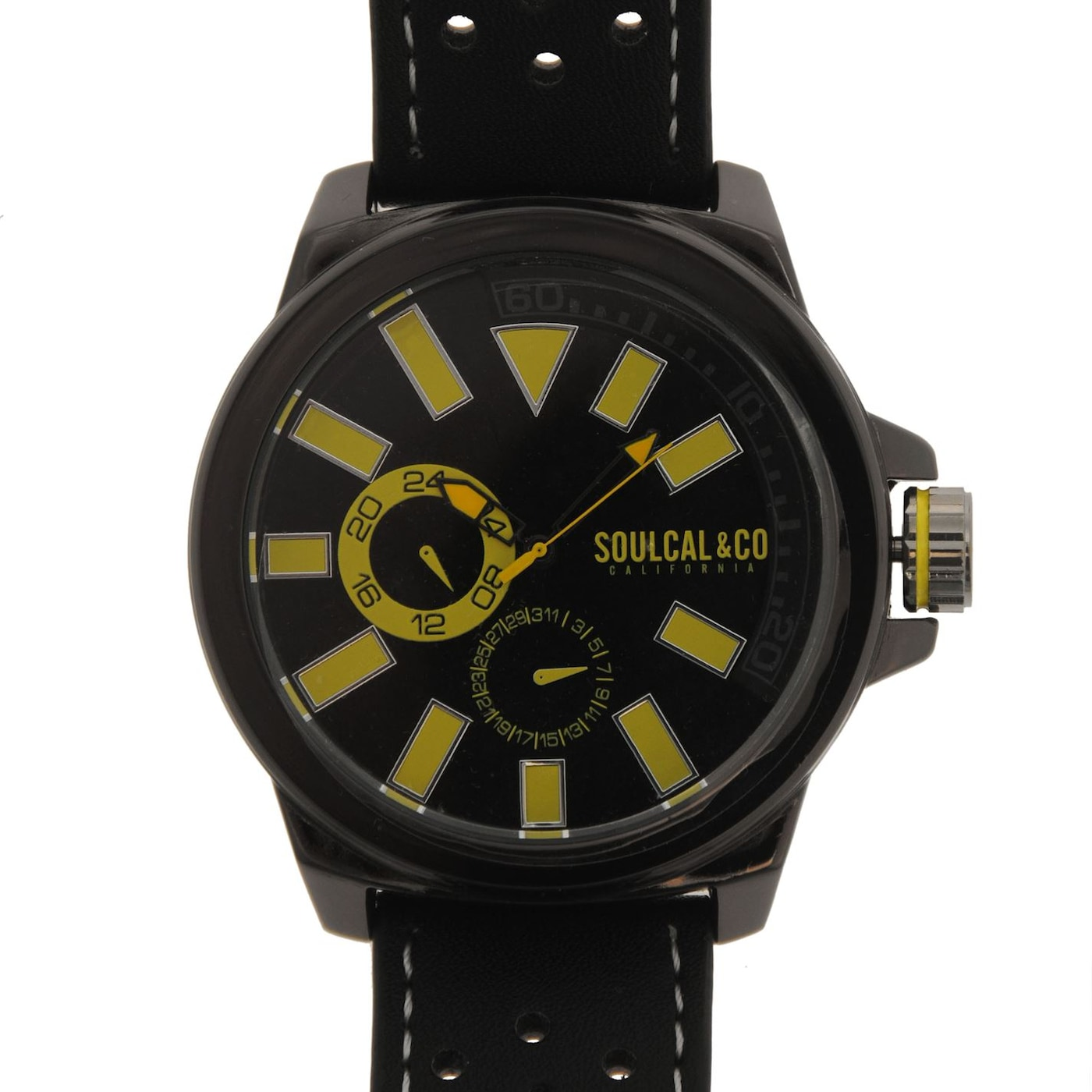 SoulCal Colour Block Watch Mens
