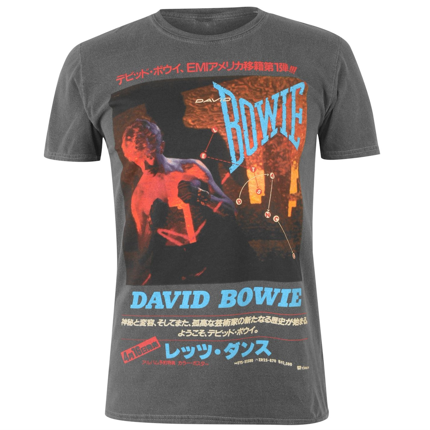 Official Vintage Band T Shirt David Bowie