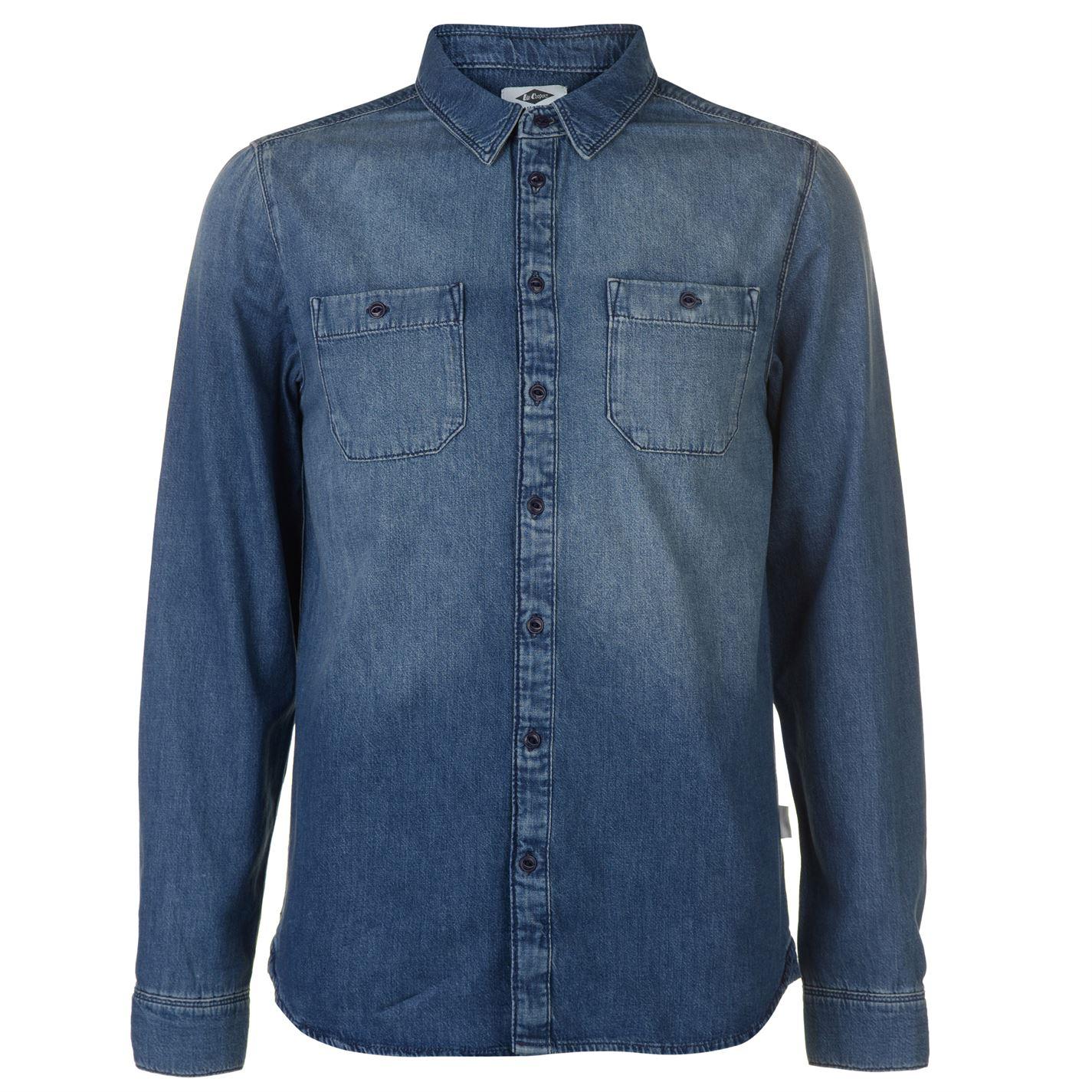 Lee Cooper Chambray Shirt