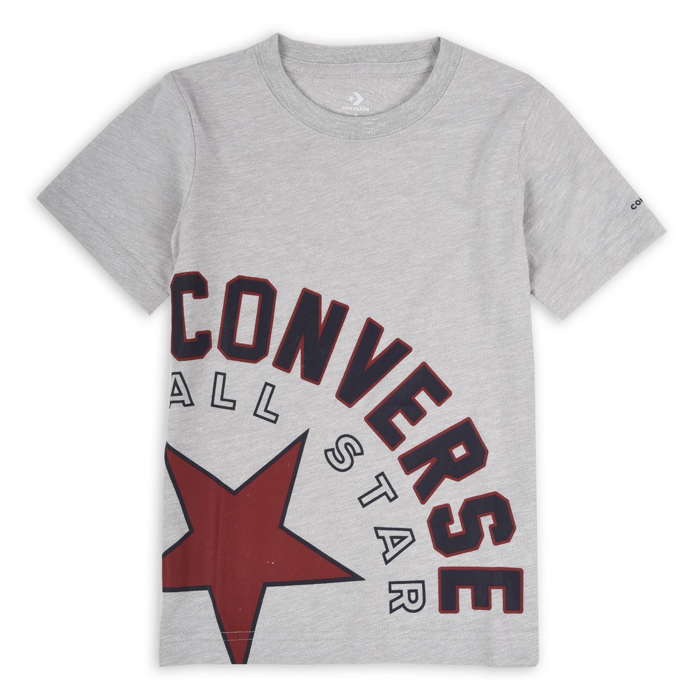 Converse Sideways Lock T Shirt Junior Boys