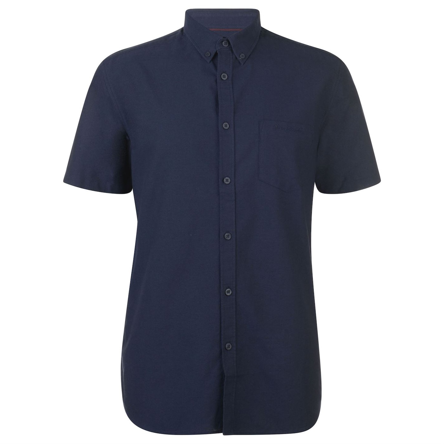 Pierre Cardin Short Sleeve Oxford Shirt Mens