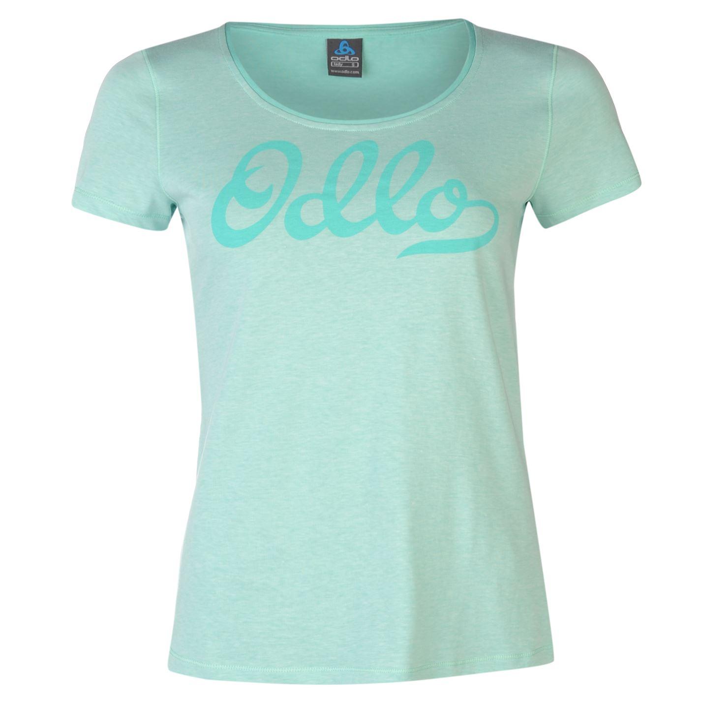Odlo Logo T Shirt Ladies