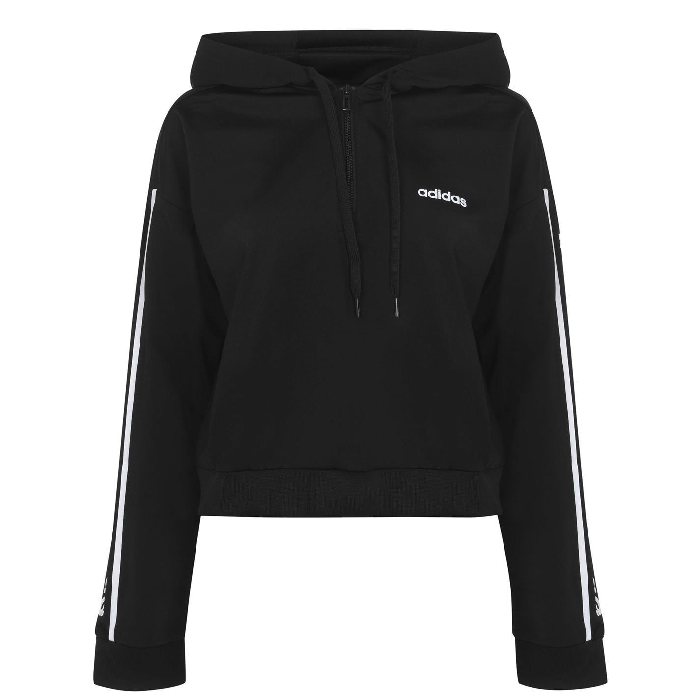 Adidas C90 Crop Hoodie Womens
