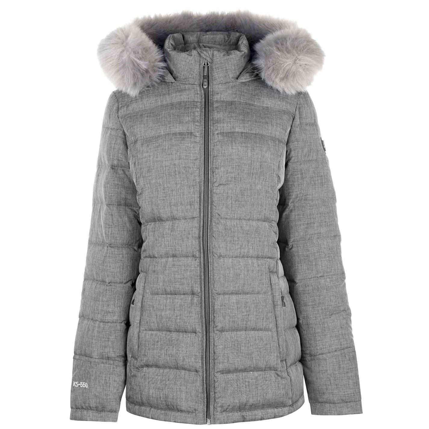 Karrimor Womens Radiant Fleece Jacket Coat Top Long Sleeve Lightweight Hooded