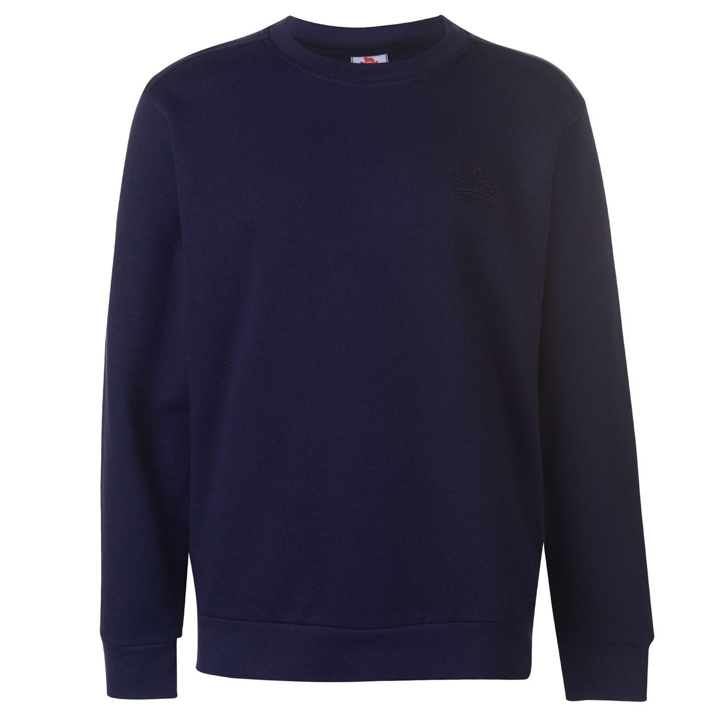 Lonsdale Fleece Crew Sweater Mens