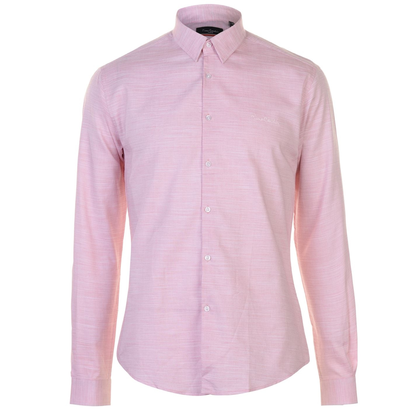 Pierre Cardin Slub Shirt Mens