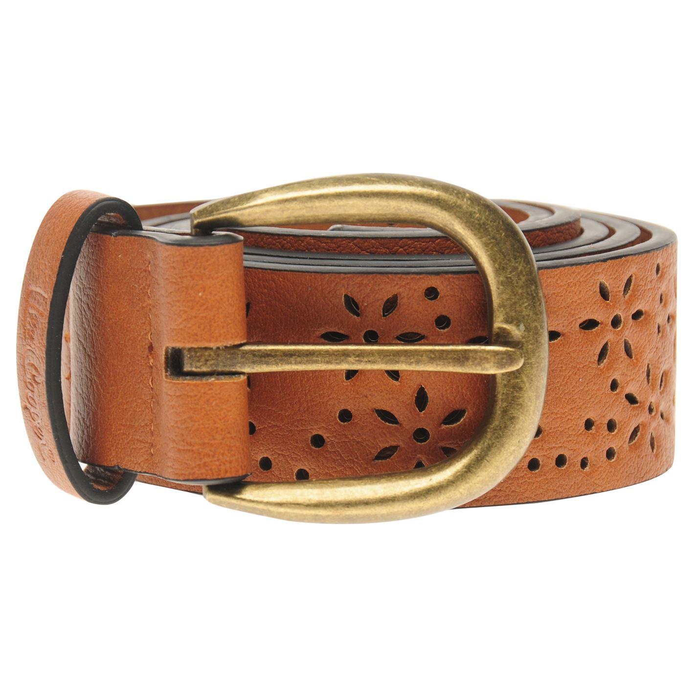 Lee Cooper Pattern Belt Ladies