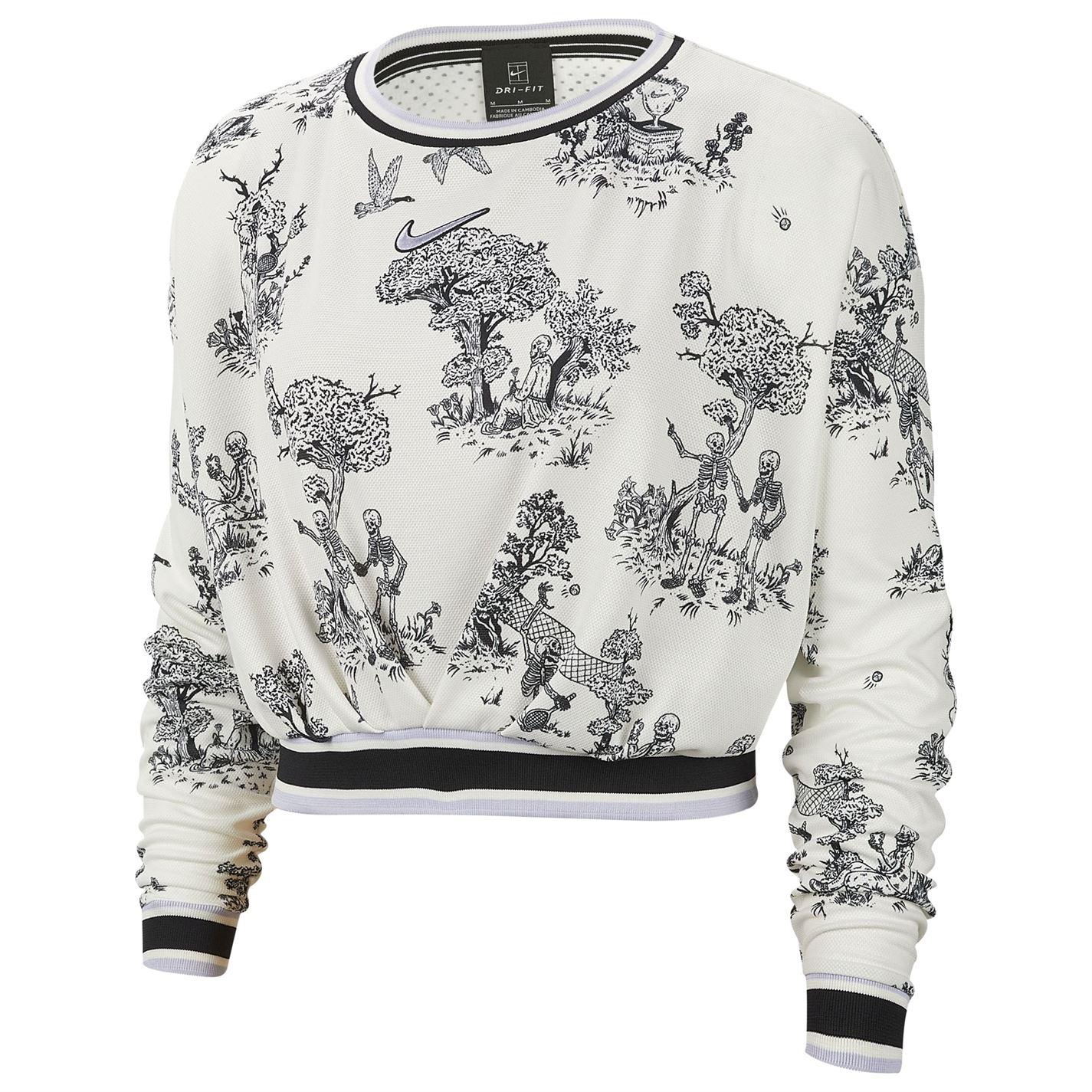 Triko Nike Dry Long Sleeve T Shirt dámské