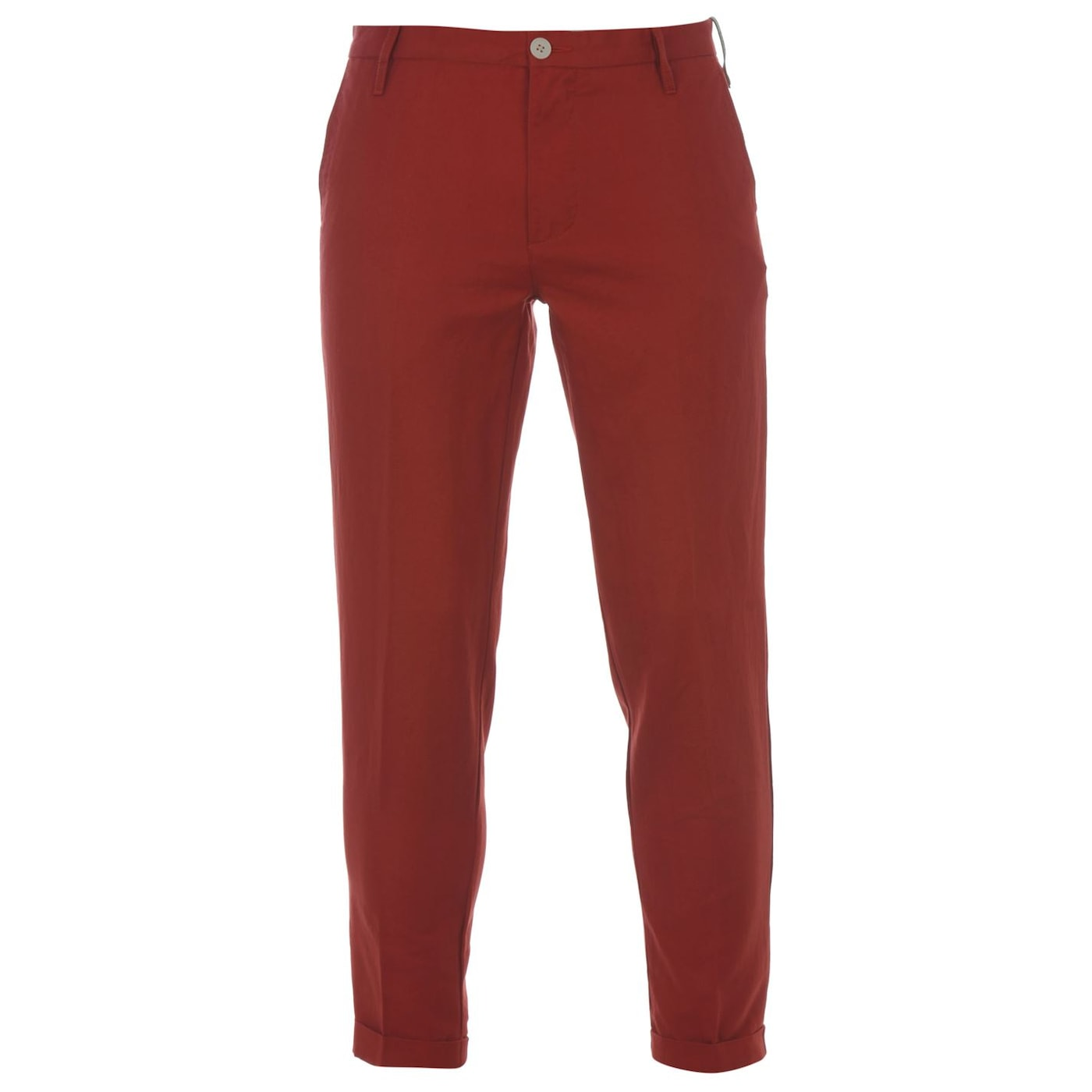 DKNY Cropped Turn Up Trousers