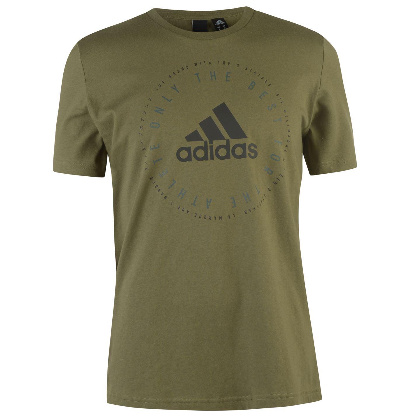 Adidas Emblem T Shirt Mens