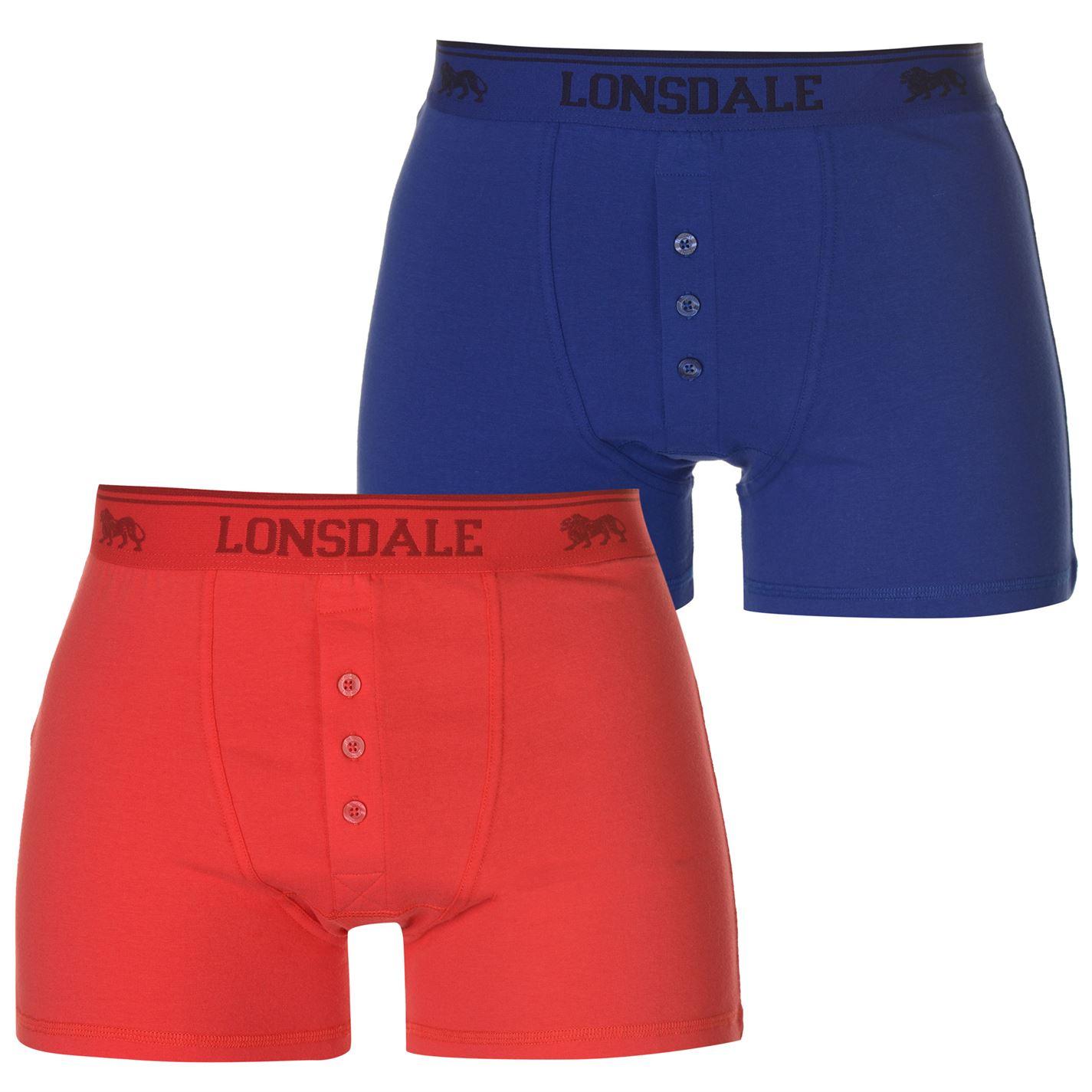 Lonsdale 2 Pack Boxers pánské